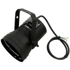 Eurolite PAR 36T, černý, bodový reflektor