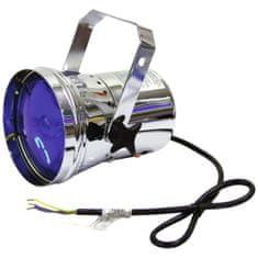 Eurolite PAR 36T, stříbrný, bodový reflektor