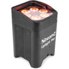 BeamZ  Uplight PAR64 LED reflektor na baterie, 6x 12W RGBAW+UV