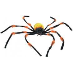 Europalms Halloween barevný pavouk, 110x110x12cm