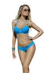 Ewlon Dámské dvoudílné plavky Kalifornia II blue + dárek zdarma