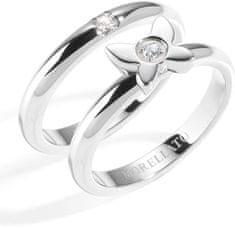Morellato Acél gyűrű, szerelmi gyűrűk SNA36