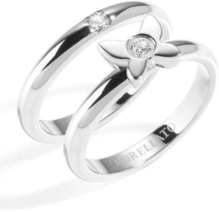 Morellato Jekleni prstani ljubezenski prstani SNA36 (Vezje 54 mm)