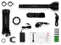 LEDLENSER X21R naglavna svetilka, 7 x C-LED, akumulatorska, v PVC kovčku