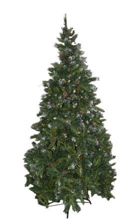 DUE ESSE Karácsonyi erdei fenyő Rustico 150 cm, bogyók és tobozok