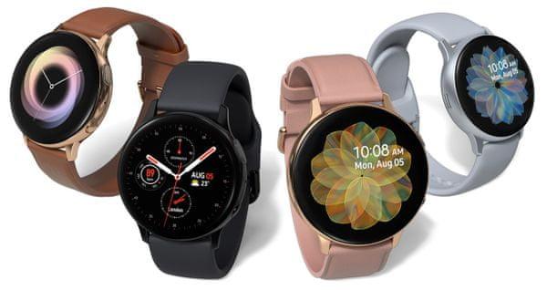 Samsung Galaxy Watch Active2, chytré hodinky, elegantné, dizajnové, hliníkové