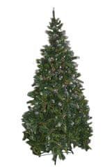 DUE ESSE choinka świąteczna - sosna Rustico 180 cm, owoce i szyszki