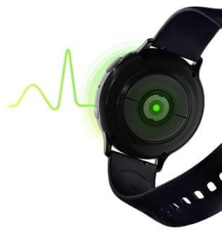 Samsung Galaxy Watch Active2, sledovanie tepu, varovanie