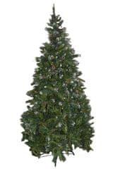 DUE ESSE choinka świąteczna - sosna Rustico 210 cm, owoce i szyszki