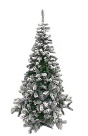 DUE ESSE Vianočný stromček Lapponia 180 cm, zasnežený
