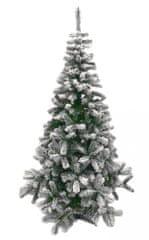 DUE ESSE Vianočný stromček Lapponia 210 cm, zasnežený - zánovné