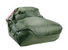 Beanbag Sedací pytel 189x140 comfort s popruhy olive