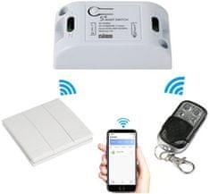 iQ-Tech przekaźnik Wi-Fi SmartLife SB002 z pilotem