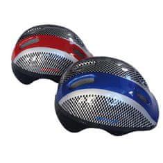 Spartan kolesarska čelada Easy Biker, rdeča M