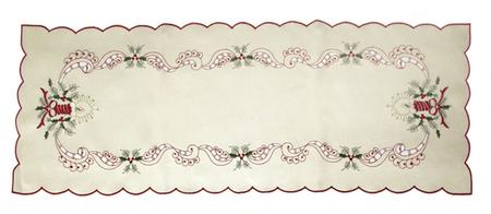 DUE ESSE Karácsonyi központi asztalterítő 86 x 31 cm