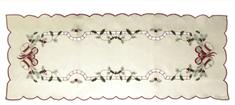 DUE ESSE obrus świąteczny, bieżnik, 86 x 31 cm
