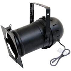 Eurolite PAR 56, černý, dlouhý, s brzdou