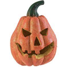 Europalms Halloween dýně s glitry, 19cm