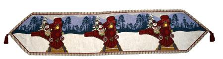 DUE ESSE obrus świąteczny, bieżnik, 150 x 33 cm