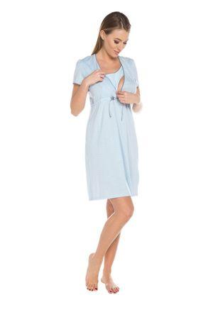 ITALIAN FASHION Dámská kojící košile Felicita blue, světle modrá, S