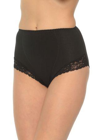 Mitex Női alakformáló fehérnemű Ela black + Nőin zokni Sophia 2pack visone, fekete, M