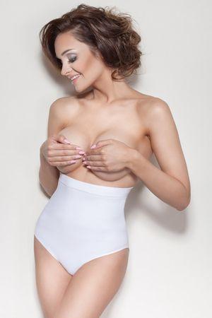 Mitex Női alakformáló fehérnemű Elite IV white, fehér, XL