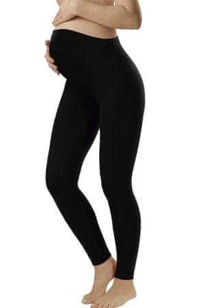 ITALIAN FASHION Női kismama fehérnemű Leggins long black + Nőin zokni Gatta Calzino Strech, fekete, XL