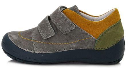 D-D-step chlapecká celoroční obuv 023-808A 31 šedá