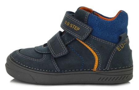 D-D-step chlapčenská celoročná obuv 040-443 31 tmavomodrá