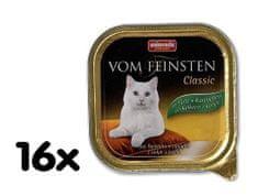 Animonda mokra karma dla kota Vom Feinstein Cat - indyk + królik - 16 x 100g