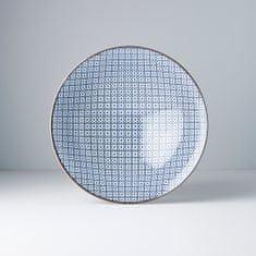 MIJ Ramen misa s geometrickými kvietkami 25 cm
