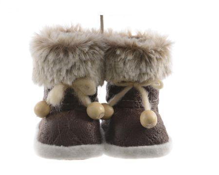 """Kaemingk Zestaw 2 sztuk, świątecznych dekoracji """"Para butów"""""""
