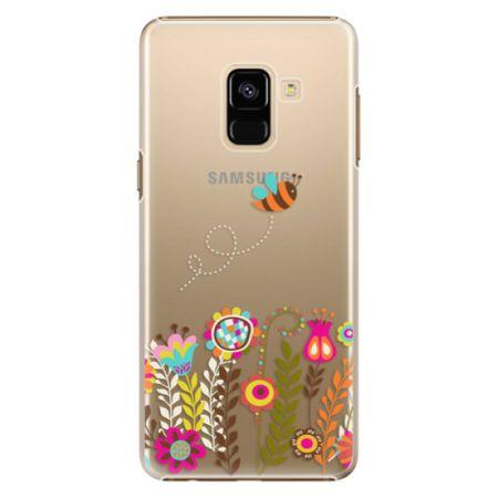 iSaprio Plastový kryt - Bee 01 pro Samsung Galaxy A8 2018