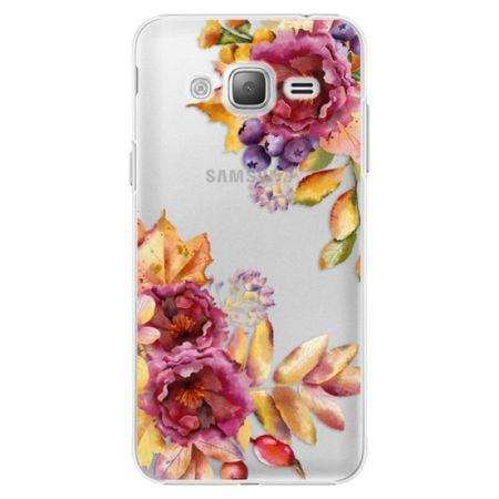 iSaprio Plastový kryt - Fall Flowers pro Samsung Galaxy J3