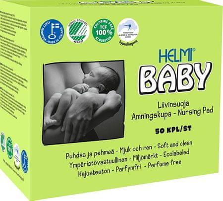 HELMI BABY BABY dojčiace vložky 50ks