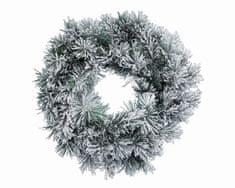 """Kaemingk Adventní věnec """"vancouver"""", cca 50cm, zasněžený"""