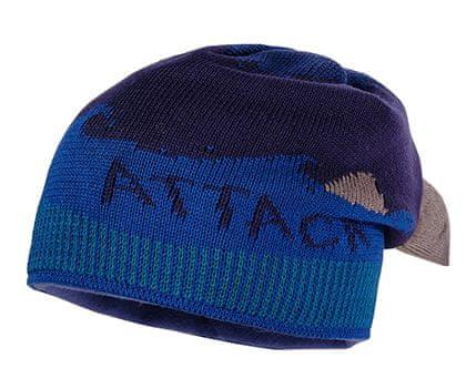 Maximo czapka chłopięca rekin 49 niebieski