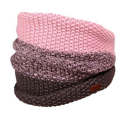 Maximo dekliški šal, roza