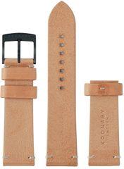 Kronaby Řemínek hnědý 22 mm A1000-0738