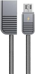 REMAX RC-088m Linyo datový kabel micro USB ,délka 1 m, stříbrná barva, AA-7088
