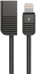 REMAX RC-088i, dátový kábel na iPhone 5,6,7, SE dĺžka: 1 m, čierna farba, AA-7087