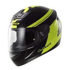 LS2 Moto přilba LS2 FF352 Rookie Fluo Black-Hi-Vis Yellow Velikost: Velikost XS (53-54)