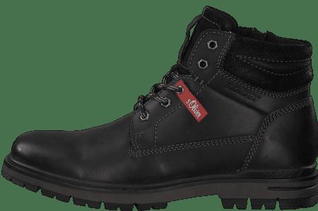 s.Oliver pánská kotníčková obuv 15207 44 černá