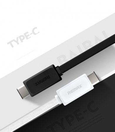 REMAX Datový kabel USB / USB C - nový model, barva černá, AA-1122