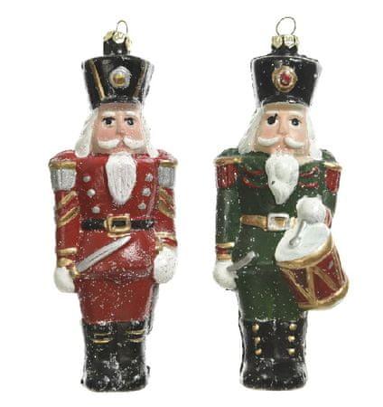 """Kaemingk 2 darabos karácsonyfadísz szett """"Diótörő"""""""