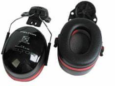 3M Slúchadlá Peltor H540P3E-413-SV Optime III SNR 34 dB, upevnenie na prilbu