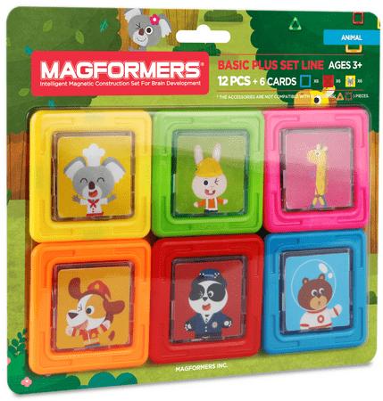 Magformers Karty ze zwierzętami