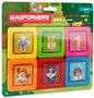 1 - Magformers Živalske kartice