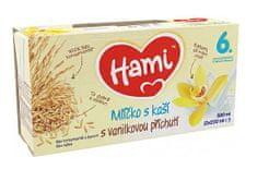 Hami Mlíčko s kašívanilkové, 500ml