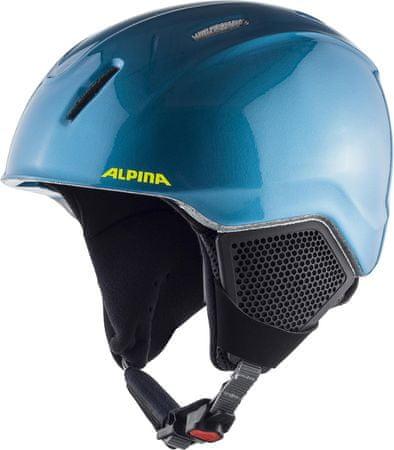 Alpina Sports Carat LX Blue/Neon/Yellow 48-52